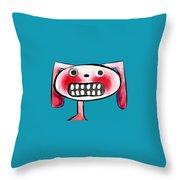 Bunnibuns Throw Pillow by Kelly Jade King