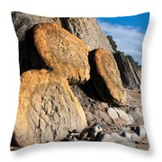 Buns On The Beach Throw Pillow