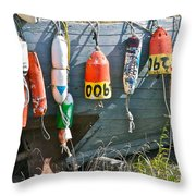 Buoy Hang Out Throw Pillow