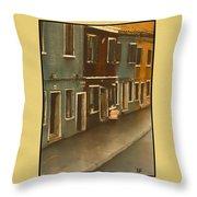 Burano Italy   No 20 Throw Pillow