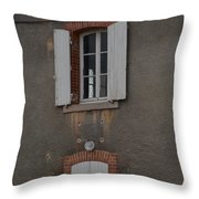 By The Canal Throw Pillow