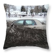 Burial Grounds Throw Pillow