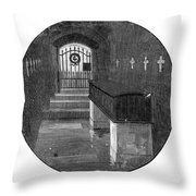 Burial Of Ulysses S Throw Pillow