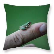 #itsnotacadillac Throw Pillow