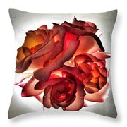 Burning Away Throw Pillow