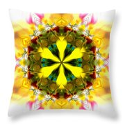 Burning Empathy Throw Pillow