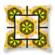 Burning Empathy Page Throw Pillow