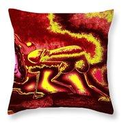 Burning Hot Passion Throw Pillow