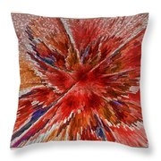 Burning Passion Of Love Throw Pillow by Deborah Benoit