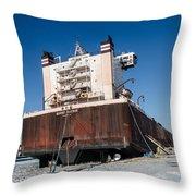 Burns Harbor Throw Pillow