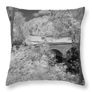 Burnside Bridge 0237 Throw Pillow by Guy Whiteley