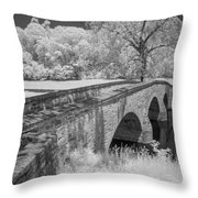 Burnside Bridge 0239 Throw Pillow by Guy Whiteley