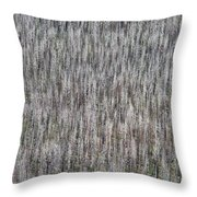 Burnt Trees Abstract II Throw Pillow