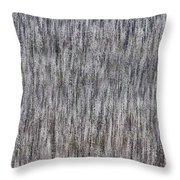 Burnt Trees Abstract Throw Pillow