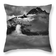 Bursting Thrugh The Clouds Throw Pillow