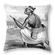 Burton Amazon Soldier Throw Pillow