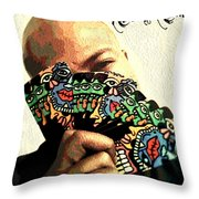 Business And No Gimmicks  Throw Pillow