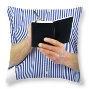 Business Appointment Throw Pillow