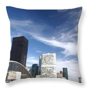 Business Architecture Throw Pillow