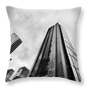 Business Architecture Skyscrapers In London Uk Throw Pillow