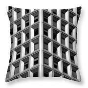 Business Building  Throw Pillow
