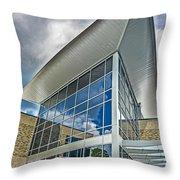 Business Building Throw Pillow