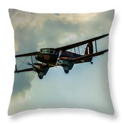 Business Class Travel In The 1930s Throw Pillow