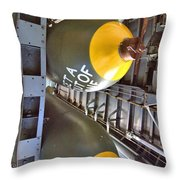 Business Of The Mission Throw Pillow
