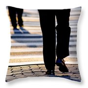 Business People Background Throw Pillow