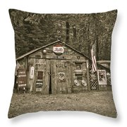 Busted Knuckle Dr Throw Pillow