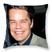 Buster Poindexter 1988 Throw Pillow