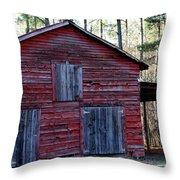 Buster's Barn Throw Pillow