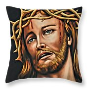 But For Grace Throw Pillow