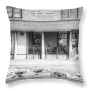 But For The Grace Of God-b Throw Pillow