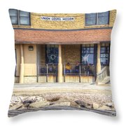 But For The Grace Of God Throw Pillow