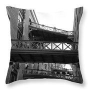 Butlers Warf Throw Pillow