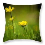 Buttercup Buttercup Throw Pillow