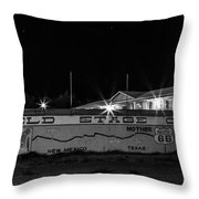 Butterfield Stage Co Steakhouse Throw Pillow
