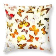 Butterflies Square Throw Pillow