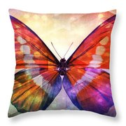 Butterfly 14-1 Throw Pillow