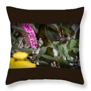 Butterfly 5 Throw Pillow