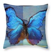 Butterfly Art - Dream It Do It - 99at3a Throw Pillow
