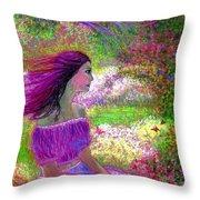 Butterfly Breezes Throw Pillow