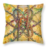 Butterfly Concept Throw Pillow