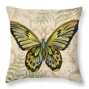 Butterfly Daydreams-a Throw Pillow