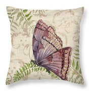 Butterfly Daydreams-b Throw Pillow