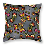 Butterfly Exodus Throw Pillow