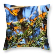 Butterfly Goodbye Throw Pillow