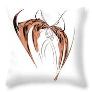 Butterfly I Throw Pillow