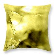 Butterfly In Flight - 2013-10-187 Throw Pillow